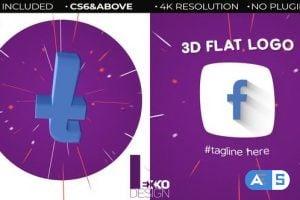 Videohive – 3D Flat Logo 22660212