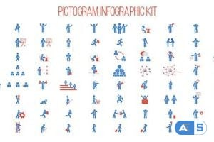 Videohive Pictogram Infographic Kit 11745802