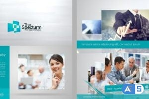 Videohive – Lines Corporate Pack 6848692