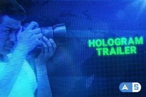Videohive Hologram Trailer 24881350