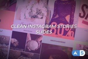Videohive – Clean Instagram Stories Slides – 25259720