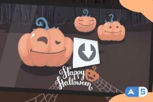 Videohive Funny Pumpkins – Halloween Intro 24880135