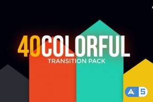 Videohive  Modern Colorful Transitions Pack 23547704