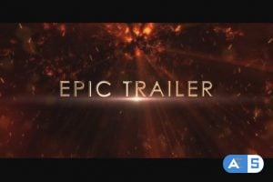 VideoHive Infernal Chaos Trailer_3D Glossy Titles 21181605