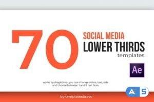 Videohive – Social Media Lower Thirds – 24493898