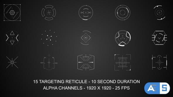 Videohive Targeting Reticules 15740399