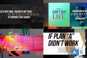 Videohive – Typography Slideshow – 13209399