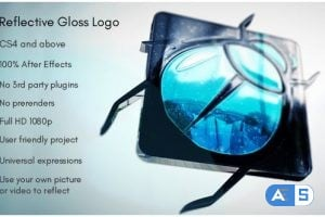 Videohive – Reflective Gloss Logo – 15550440