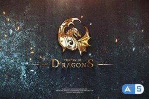 Videohive Epic Fantasy Logo Reveal 24632149
