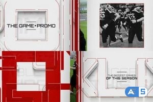 VideoHive The Game – Promo 8377487