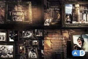 Videohive – The History Slideshow – 25025915
