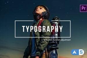 Videohive – TypoFlow | For Premiere Pro 25316644