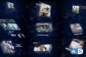 Videohive – Future Corporate Slideshow/ Digital Slides/ Business Idea/ Meeting and Presentation/ Cube and Glas 15400769