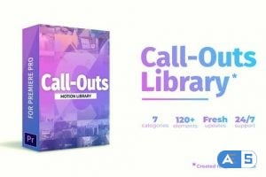 Videohive – Call Outs Library   MOGRT for Premiere 22833512