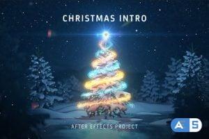 Videohive – Christmas Tree Intro – 25256893