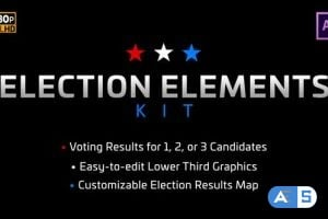 Videohive Election Elements Kit 25028594