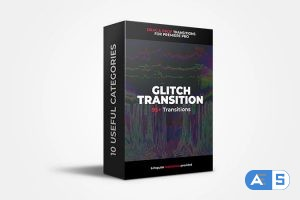 Flatpackfx 95+ Glitch Transitions