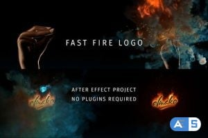 Videohive Fast Fire Logo 24883469