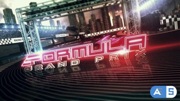 Videohive Formula Racing Opener 17949254