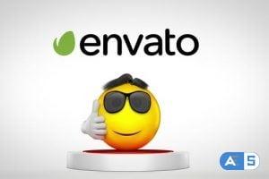 Videohive – Jumping Emoji Logo Reveal 22989239