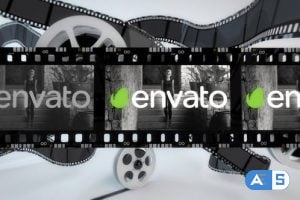 Videohive – Film Strip Logo Reveal 22961668