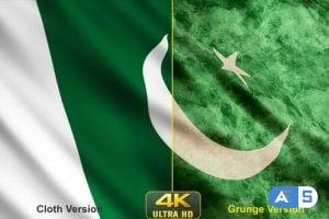 Videohive – Pakistan Flags 24638627