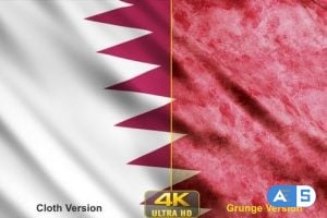 Videohive – Qatar Flags 24638666