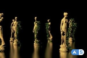 Videohive – Lady Ancient Statue Hd 24630253