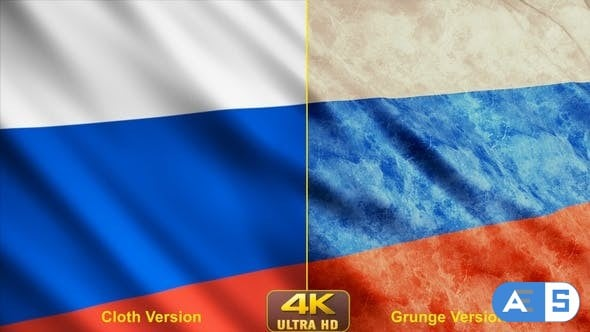 Videohive – Russia Flags 24638707