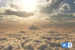 Videohive – Into The Cloud 01 HD 24630442