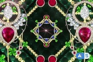 Videohive – Decorative Diamonds 24677151