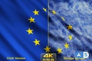 Videohive – European Union Flags 24639677