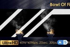 Videohive – Bowl Of Fire 23071547