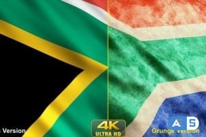 Videohive – South Africa Flags 24638742