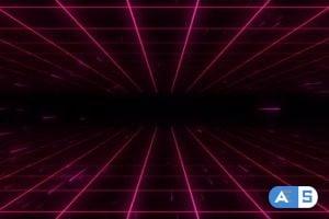 Videohive – 80s Retro Background 07 4K  24668051