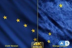 Videohive – Alaska State Flags 24623651