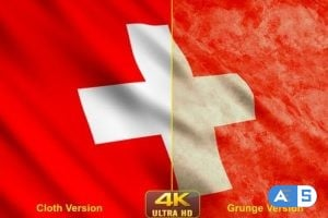 Videohive – Switzerland Flags 24638882