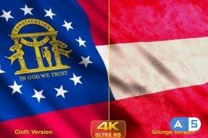 Videohive – Georgia State Flags 24623908