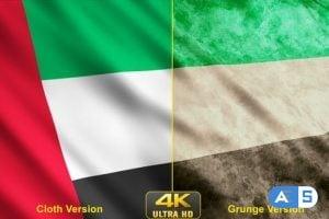 Videohive – United Arab Emirates Flags 24639584