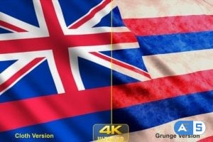Videohive – Hawaii State Flags 24624347