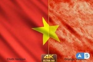 Videohive – Vietnam Flags 24639631