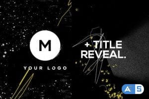 Videohive – Logo & Title Reveal Scribble Grunge 25342864