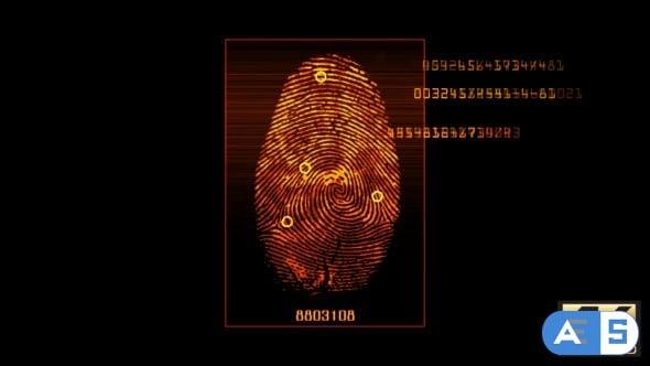 Videohive Fingerprint Scan v3 16851210