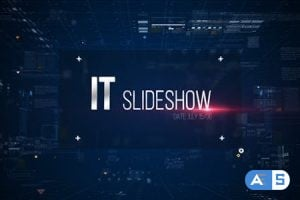Videohive – IT Slideshow/ Digital HUD Slide/ Interface Placeholders/ Sci-fi Technology/ Business Presentations – 11184463