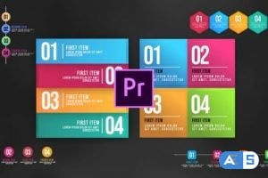 Videohive – Infographic Animated Lists – MOGRT 25248275