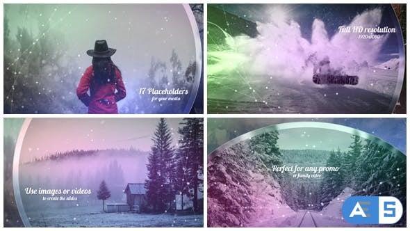 Videohive – Christmas Opener / Winter Slideshow 19381009