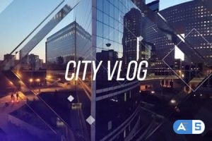Videohive – City Vlog – 20065198