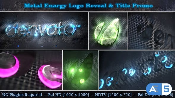 Videohive – Metal Energy Logo Reveal & Title Promo 5415270