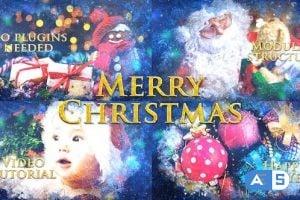 Videohive Merry Christmas Slideshow / Holiday Greetings / Winter Memories Album / New Year Titles 25032993
