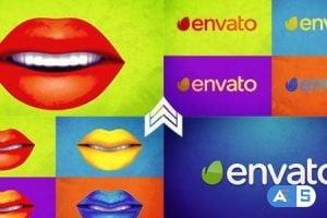 VideoHive Warhol Lips Opener 20360186